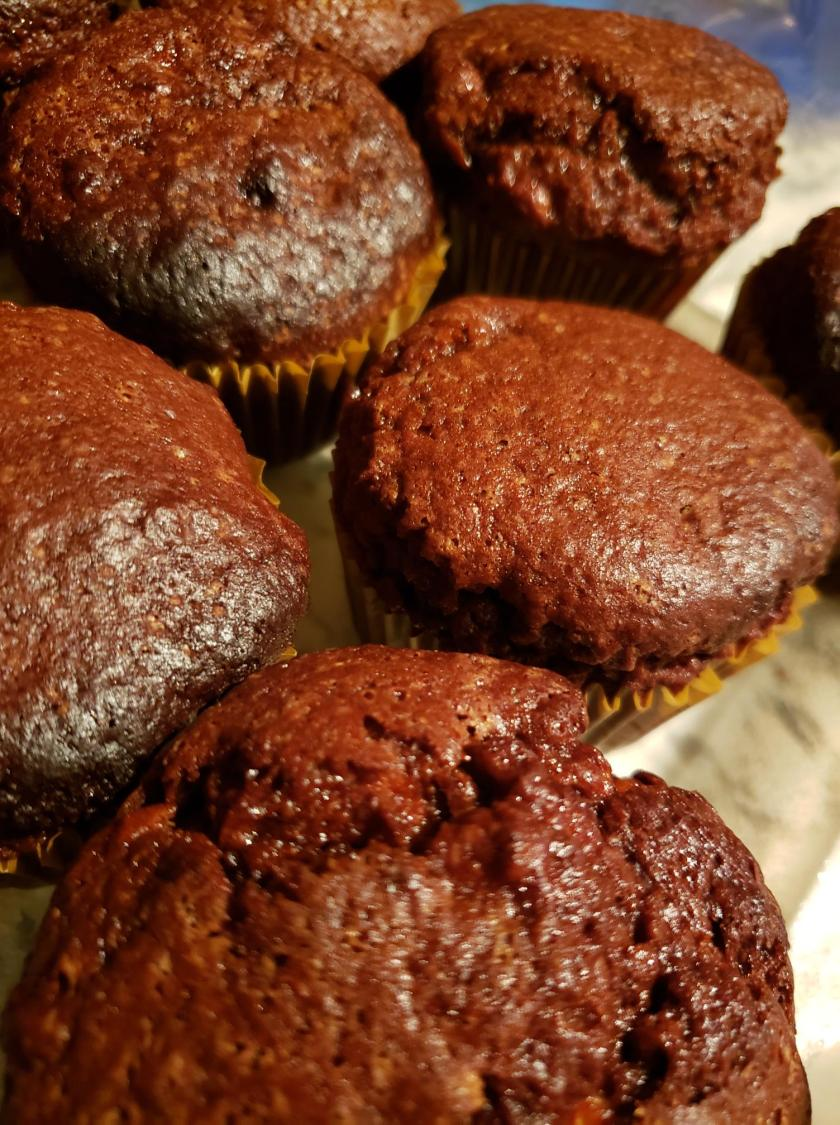 chocolatebananamuffins